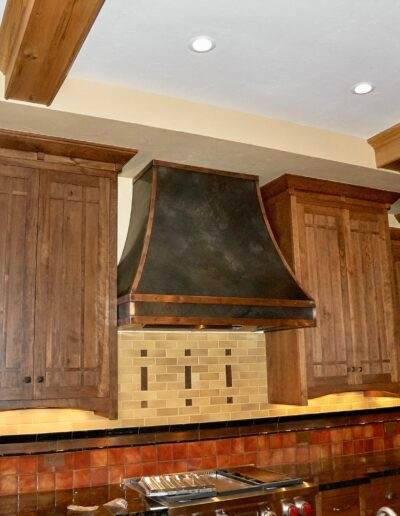 volcanic stainless steel kitchen hood