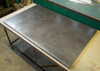 Volcanic Stainless Steel countertop