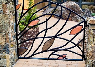 Bubbling Brook art gate