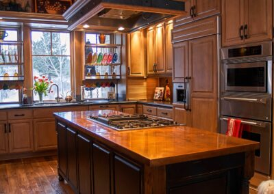 copper island countertop