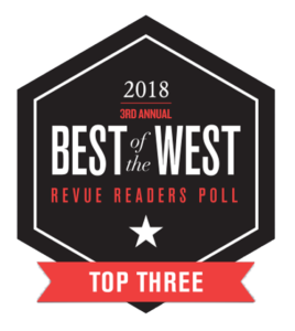 2018 Best of the West Top Three Readers Poll Winner