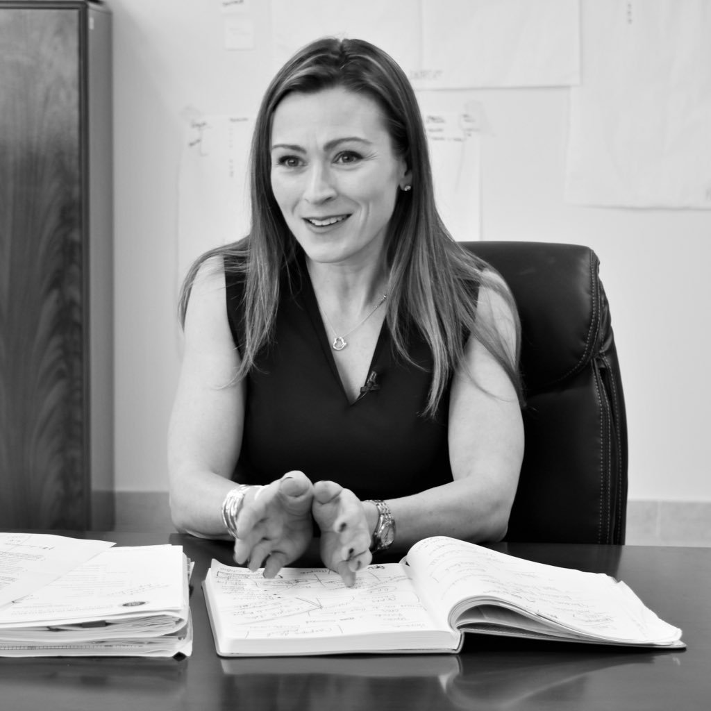 Julia as executive leader, management consultant, performance improvement expert