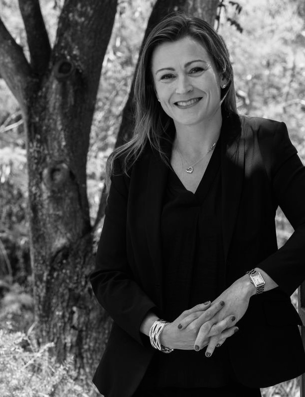 Julia enjoying the challenges of entrepreneurship. Dynamic and proven female leader