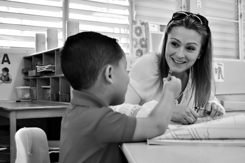 Julia providing academic support, expert in student success strategies