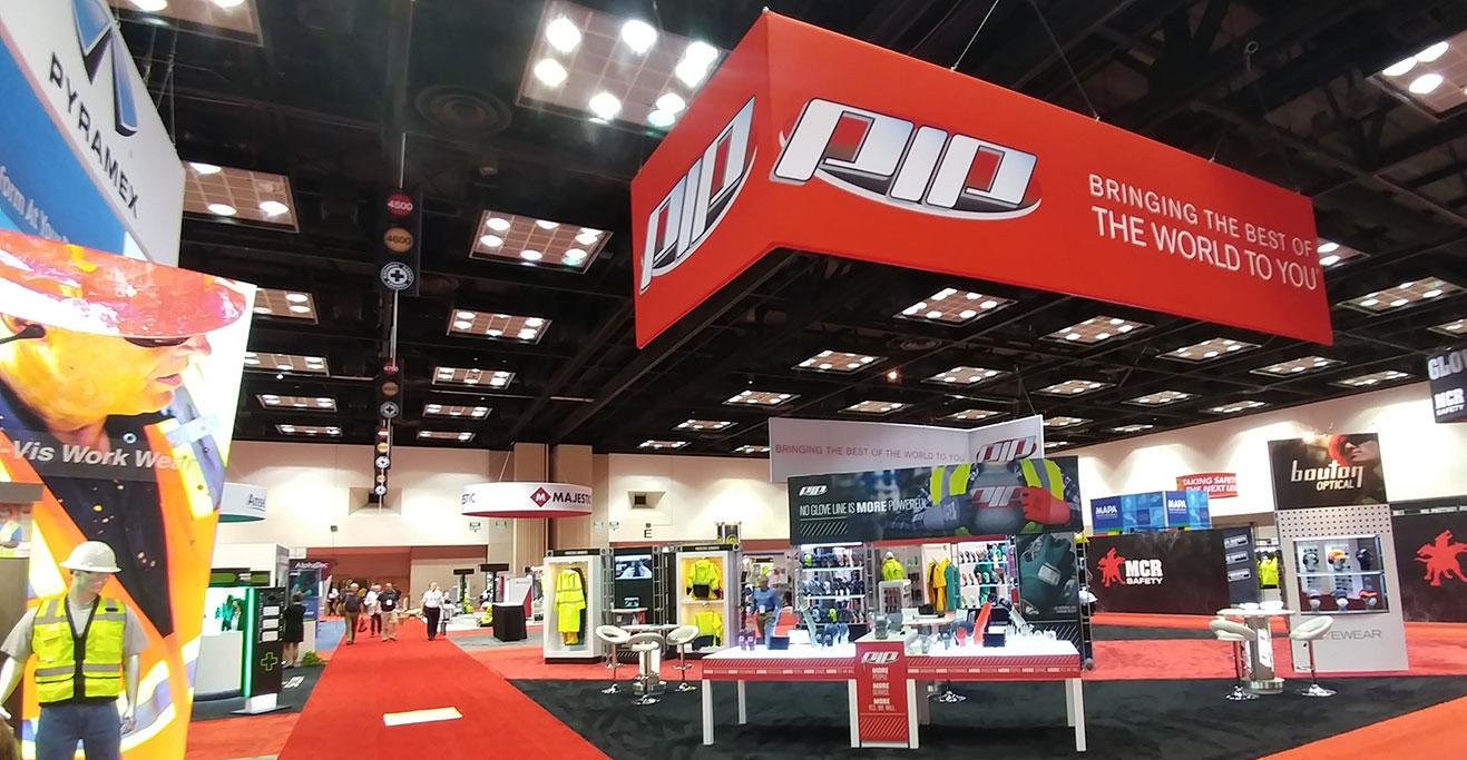 trade show exhibit PIP