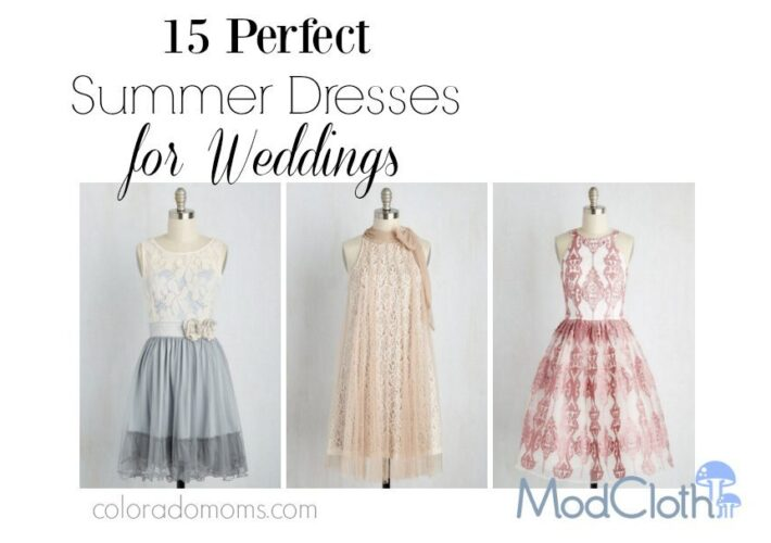 15 Summer Dresses for Weddings