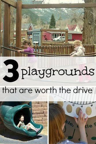 3 playgrounds worth the drive