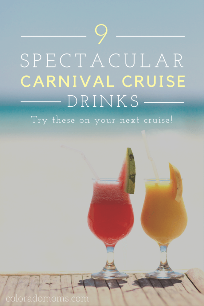 9 Best Carnival Cruise Drinks