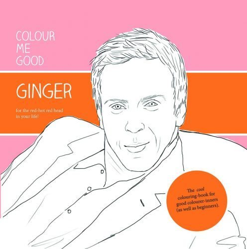 Colour Me Ginger Coloring Book