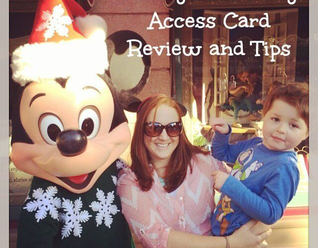 Disney's Disability Access Card Review and Tips