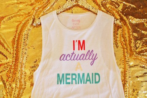 I'm Actually a Mermaid Shirt