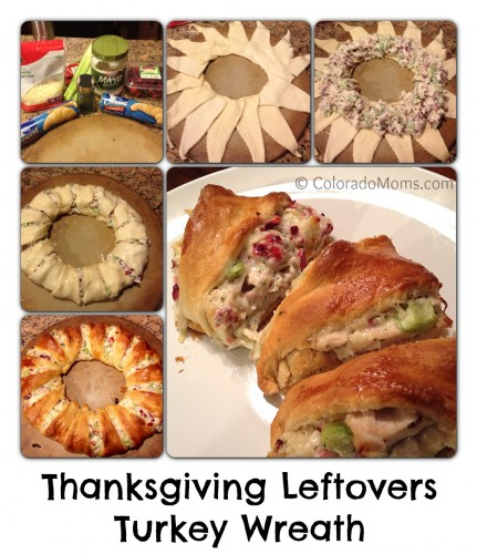 Thanksgiving Leftovers Turkey Wreath Recipe
