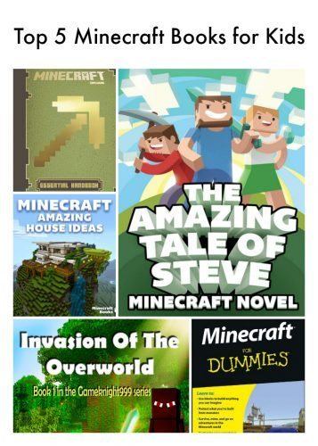 Top 5 Minecraft Books for Kids