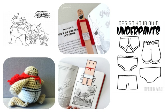 Captain Underpants crafts