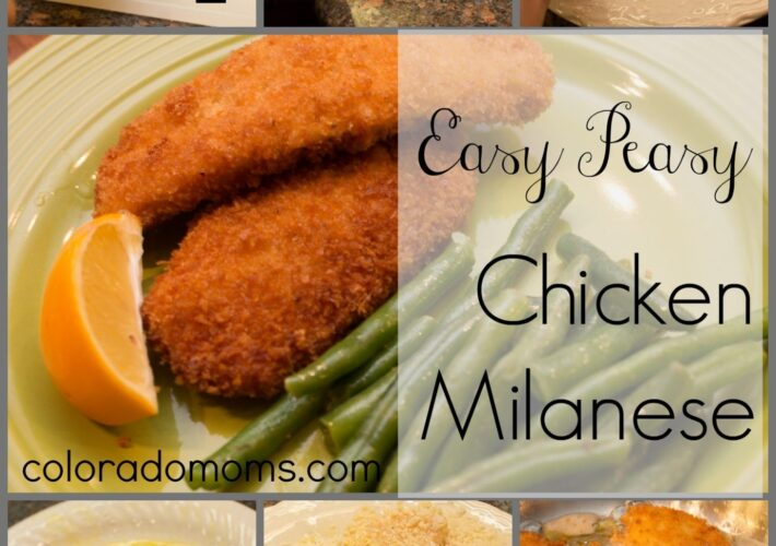 chicken milanese recipe