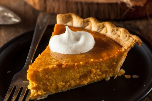 Pumpkin Pie High Altitude
