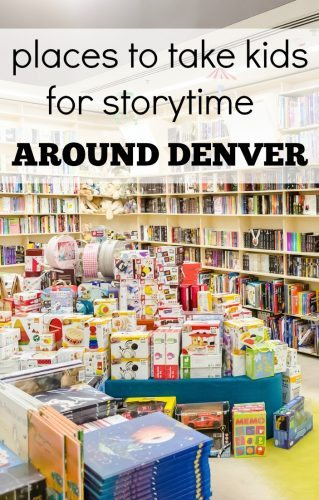 Places to take kids for storytime around Denver