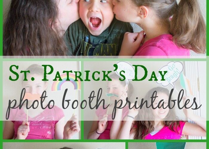 St. Patrick's Day Photo Booth Free Printables