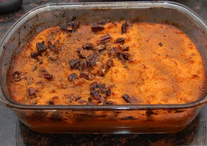 sweet potato caramel casserole