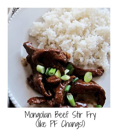 stir fry recipe, like PF changs