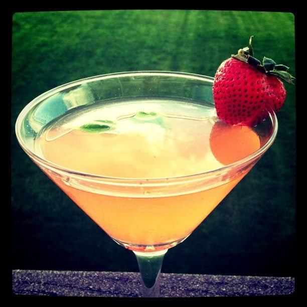 strawberry basil martini recipe