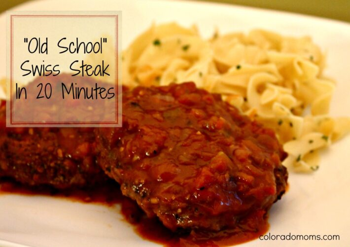 Swiss Steak in 20 Minutes