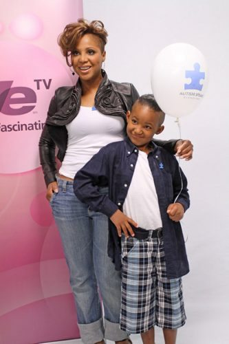 Toni Braxton's son Diesel was diagnosed with autism at age 3.