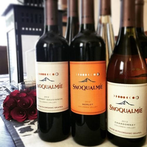 snoqualmie wine bottles