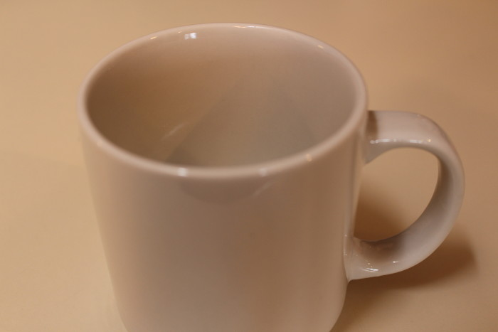 clean cup