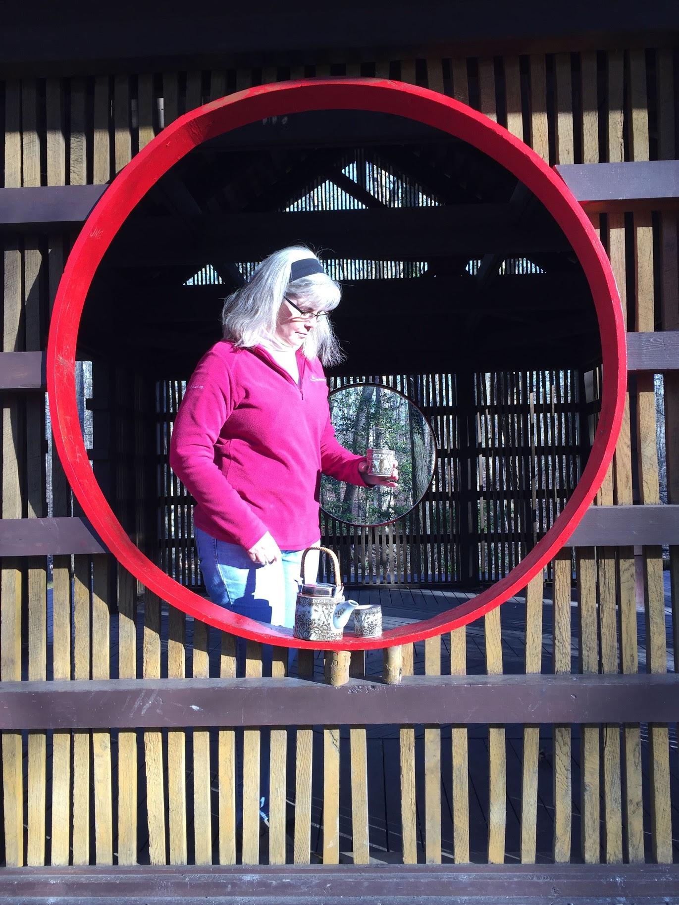 Tea in a Japanese Tea Garden