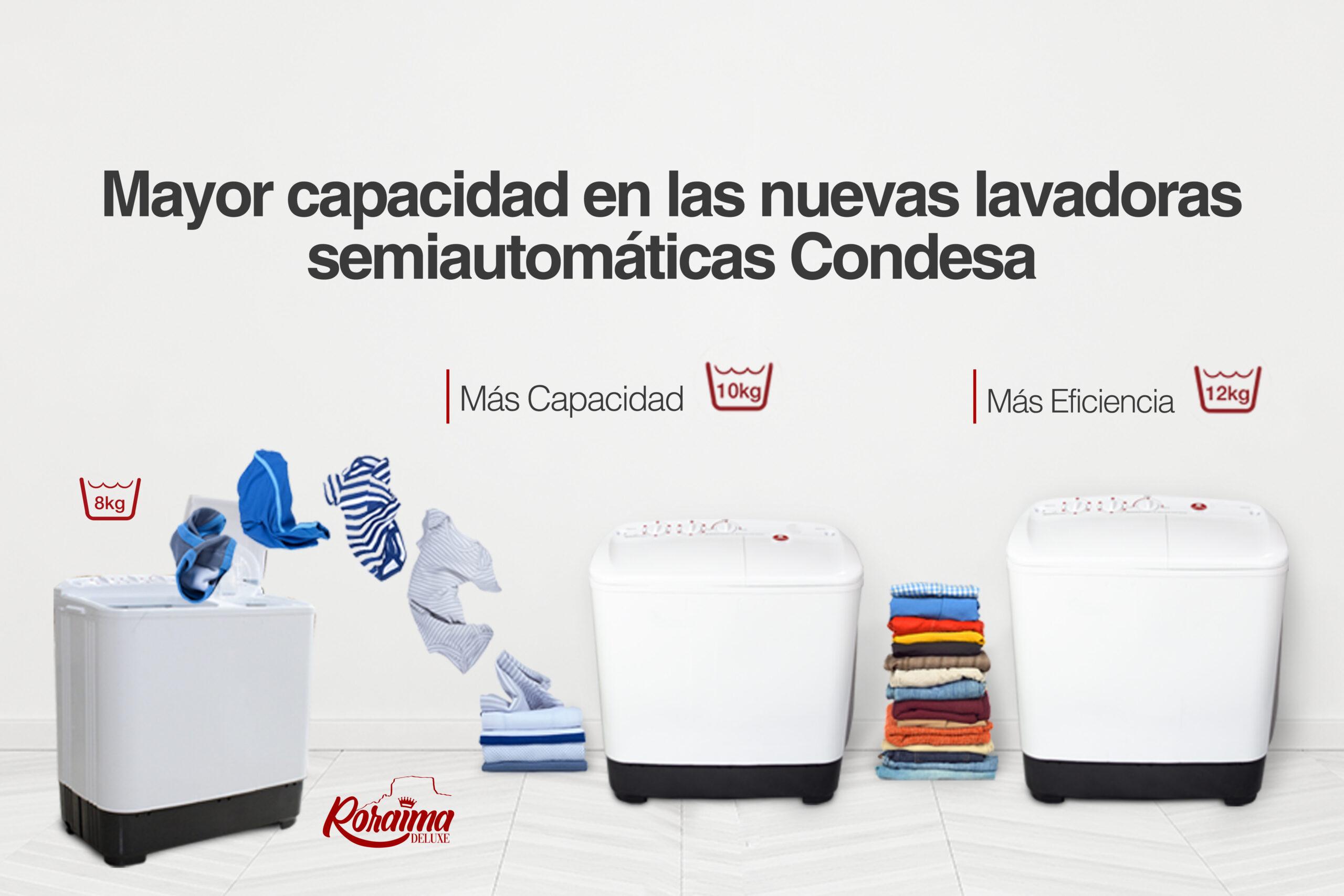 lavadoras semiautomáticas Condesa