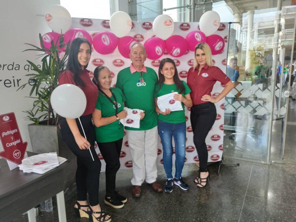 Ruta condesa en CIRO San Cristóbal junto a ganadores Chicas Condesa