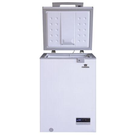 Congelador 100 litros Roraima deluxe frente abierto