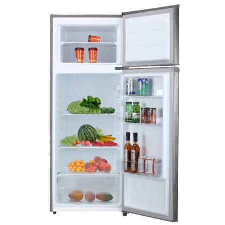 Refrigerador 210 Litros Roraima deluxe abierto
