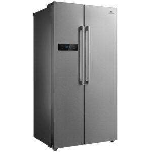 Refrigerador 530 litros Roraima deluxe color plata