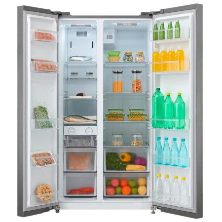 Refrigerador 530 litros Roraima deluxe abierto