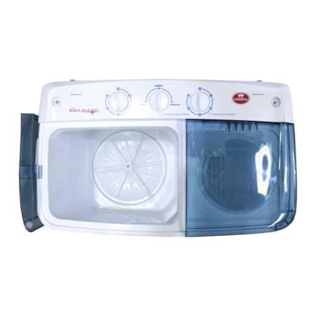 Lavadora semi-automática doble tina Condesa con visor transparente
