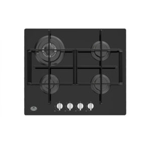 Tope de cocina a gas de color negro Condesa