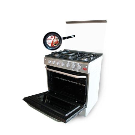cocina 6 hornillas inox edicion especial