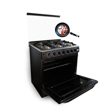 cocina 6 hornillas negra edicion especial