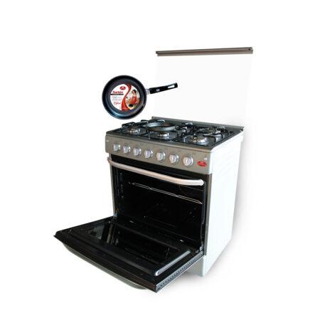 cocina 6 hornillas plata edicion especial