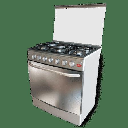 cocina edición especial 6 hornillas Plata