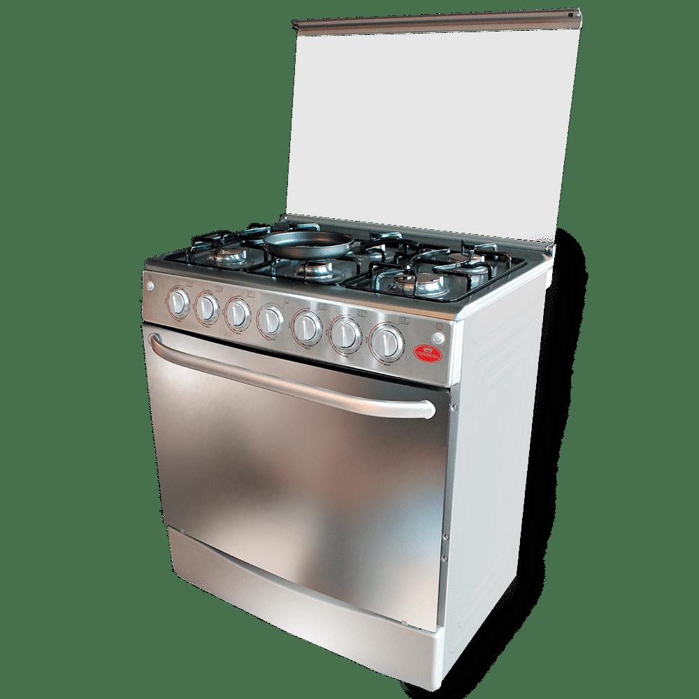 cocina edición especial 6 hornillas Acero Inox.