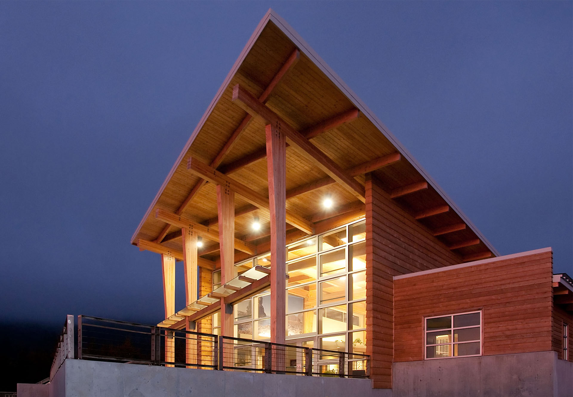 Crissy Fields State Park, Visitors Center, Brookings, Oregon, Da