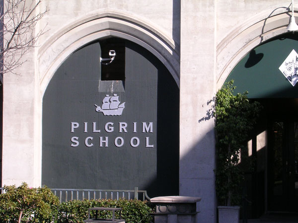 Channel Letters - Pilgrim School