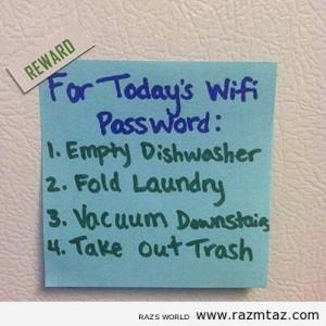 Today's wifi