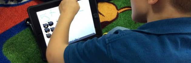 Modeling Addition with iPads
