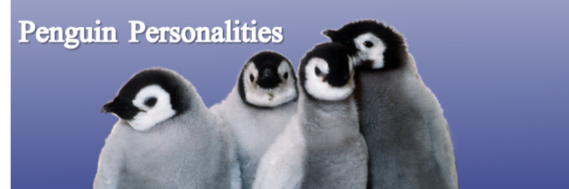 Penguin Personalities