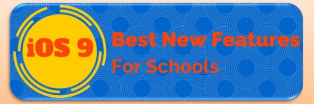 iOS 9 for Schools