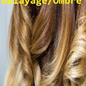 Balayage/Ombre Color Halo Style Hair Extensions